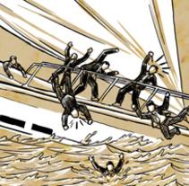 Mi Proyecto del curso: Desestabilización . Un proyecto de Comic de Octavio Jiménez - 15-01-2016