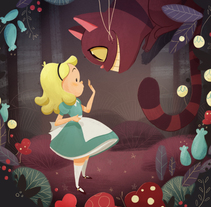 Alice in Wonderland. A Illustration project by Núria  Aparicio Marcos - 15-01-2016