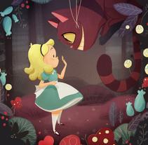 Alice in Wonderland. Un proyecto de Ilustración de Núria  Aparicio Marcos - Sábado, 16 de enero de 2016 00:00:00 +0100