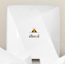 Branding & Corporate Design: albacol. Un proyecto de Publicidad, Br, ing e Identidad y Diseño gráfico de almudena nagu - 25-01-2016