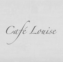 CAFÉ LOUISE. A Br, ing, Identit, Graphic Design, and Packaging project by Marjorie  - 26-02-2014