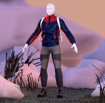 Montañero. WIP. Um projeto de 3D, Design de personagens e Design de vestuário de gesiOH         - 27.01.2016
