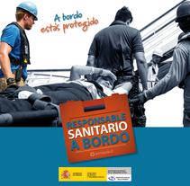 Campaña Responsable Sanitario a Bordo. Un proyecto de Diseño, Dirección de arte y Diseño editorial de Kiko  Fraile - 29-10-2015