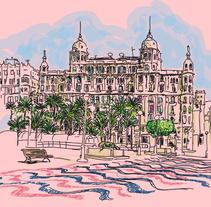 Alicante. Um projeto de Design e Ilustração de Pablo  García García - 29-01-2016