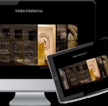 MALA MALISIMA tienda de ropa. A Web Design project by Marga Palazón Ortega         - 31.01.2012