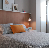 Dormitorio nórdico. A Design, Architecture, Interior Architecture&Interior Design project by UVE Laboratorio de Diseño         - 01.02.2016