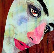 Retratos. A Illustration project by Alvaro  Tapia Hidalgo - 02.02.2016