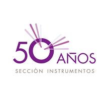 """Marca """"50 Años sección instrumentos"""" / Cofradía Jesús Nazareno. A Br, ing, Identit, and Graphic Design project by IVÁN ARANA SOLANA         - 05.02.2016"""