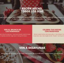 Proyecto de curso - Web Responsive. Un proyecto de Diseño Web y Desarrollo Web de Amanda de Bettencourt Gutierrez         - 01.03.2016
