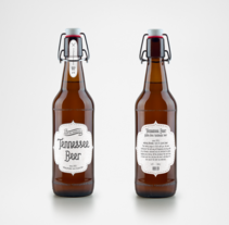 Cerveza Tennessee. A Graphic Design, and Product Design project by Alana García Ortega - 09-02-2016