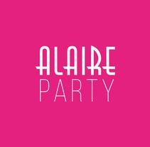 ALAIRE PARTY Hotel Condes de Barcelona. Um projeto de Design, Publicidade, Design gráfico e Marketing de Daniel Cáceres Álvarez - 15-06-2015