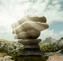 Antequera - El Torcal. Matte Painting. A Post-Production project by José Torres Escobar         - 13.02.2016