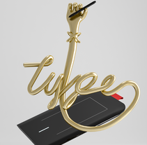 Type. A Design, Illustration, and 3D project by Felipe Proaño         - 14.02.2016