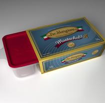 Per Mangiare . Um projeto de 3D, Br, ing e Identidade, Design gráfico e Packaging de Gabriel Delfino - 31-07-2009