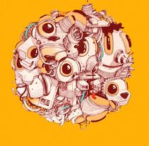 PRINTS. Un proyecto de Dirección de arte e Ilustración de Óscar Lloréns - Martes, 16 de febrero de 2016 00:00:00 +0100
