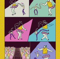 Boogie Woogie. A Comic&Illustration project by Ana Galvañ - Feb 23 2016 12:00 AM