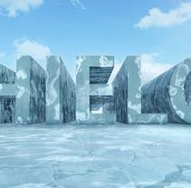 HIELO. Um projeto de Motion Graphics, 3D e Pós-produção de Rebeca G. A         - 23.02.2016