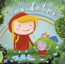 Anna adventures. A Design, Illustration, and Graphic Design project by Rafa Garcia  - Mar 02 2016 12:00 AM