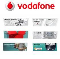 Vodafone España (nuevo Look & Feel). Un proyecto de Diseño gráfico, Diseño Web y Desarrollo Web de Adelaida Castro Navarrete - Jueves, 01 de marzo de 2007 00:00:00 +0100