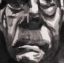 Ceguera . Un proyecto de Ilustración, Bellas Artes y Pintura de Alejandro  Armas Vidal - 12-03-2016