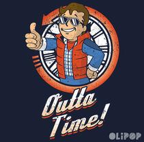 Outta Time. Um projeto de Ilustração e Design gráfico de Oliver Ibáñez Romero         - 13.03.2016