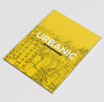 Urbanic. Illustration and cover design. A Design, Illustration, Architecture, Editorial Design, and Graphic Design project by Pablo Antuña - 14-03-2016