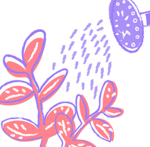 My plant! :). Um projeto de Design, Ilustração, Artes plásticas e Design gráfico de María Palacio Márquez         - 14.03.2016