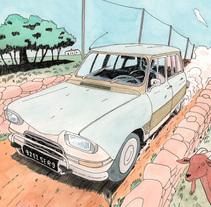En la Formentera profunda. Un proyecto de Comic e Ilustración de Juan Moreno - Miércoles, 16 de marzo de 2016 00:00:00 +0100