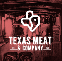 TEXAS MEAT & COMPANY. A Br, ing, Identit, and Graphic Design project by Jhonny  Núñez - Mar 17 2016 12:00 AM