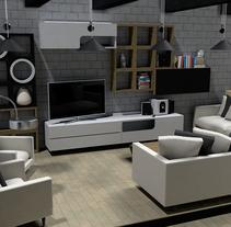 Diseño y Reforma de Interior. Espacio Residencial. Um projeto de Arquitetura, Direção de arte, Design de móveis e Design de interiores de Sergio Kian         - 17.03.2016