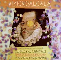 #Microcervantes exposición. A Design, Illustration, Graphic Design, and Street Art project by Pedro González López         - 18.03.2016