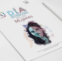 Carteles concurso día internacional de la mujer 2016-2017. A Graphic Design project by Javier Abellán García         - 17.12.2015
