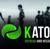 Logotip KATOA / triptic / targetes. Un proyecto de Diseño de Marina Burgaya         - 21.03.2016
