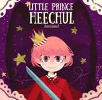 Heechul (personal y para Heechul Chile Petals). Un proyecto de Ilustración de Camila Castillo Labarca - 22-03-2016
