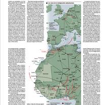 Infografía El Mundo. Un proyecto de Infografía de África San Esteban         - 22.03.2016