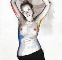 You snatched my entrails. Un proyecto de Ilustración y Bellas Artes de Mentiradeloro Esther Cuesta - 23-03-2016