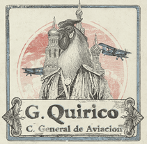Gallo Quirico, Vinilo y Merchandising. A Illustration, Advertising, Art Direction, Br, ing, Identit, Character Design, Editorial Design, Fine Art, Graphic Design, Marketing, Packaging, Screen-printing, and Collage project by Sergio Kian         - 26.03.2016
