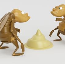 Mi Proyecto del curso: Diseño de personajes en Cinema 4D: del boceto a la impresión 3D. Um projeto de 3D de Dilan Lopez         - 28.03.2016