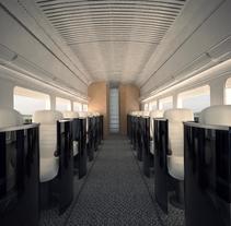 Rail Experience. Un proyecto de Diseño, 3D, Diseño de automoción, Arquitectura interior y Diseño de interiores de Blanca Sánchez Valero         - 05.04.2016