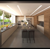 Cocina Lomas C. A Photograph, 3D, Architecture, Cooking, Interior Architecture&Interior Design project by Lourdes Rodriguez         - 03.08.2015