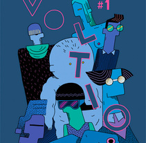 Voltio Magazine #1. A Illustration project by Ana Galvañ - Apr 07 2016 12:00 AM
