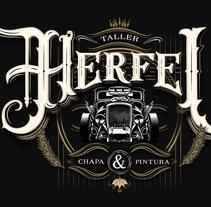 Lettering Helfei Taller. Um projeto de Caligrafia de Alejandro Roldan         - 07.04.2016