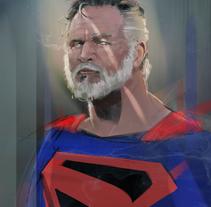 OLD SUPERMAN / KINGDOM COME. Un proyecto de Ilustración y Comic de Ismael Alabado Rodriguez - Lunes, 11 de abril de 2016 00:00:00 +0200