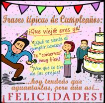 Diseño Cumpleaños. A Design&Illustration project by Eva Palacios Serrano         - 10.04.2016