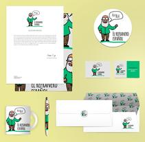 """Diseño de Branding """"El refranero Español"""". Um projeto de Design, Ilustração, Publicidade, Direção de arte, Br e ing e Identidade de Verónica Zara Benítez         - 04.01.2016"""