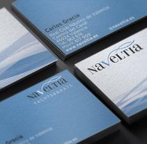 Naveltia Brand. Um projeto de Br e ing e Identidade de Jose Ribelles         - 13.04.2016