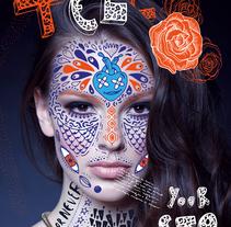 """""""Chicz"""" Covers project. Un proyecto de Ilustración y Arte urbano de Pupa Pupapop - 17-04-2016"""