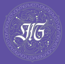 Monogramas | Proyectos diversos. A T, pograph, and Calligraph project by GM Meave - Apr 19 2016 12:00 AM