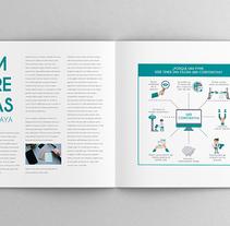 Infografía - Porque hay que tener una web. Un proyecto de Infografía de Raquel Acebes         - 10.02.2016