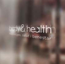Body & Health imagen corporativa. A Design, Br, ing, Identit, Graphic Design, and Social Media project by disparoestudio - Apr 25 2016 12:00 AM